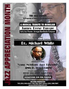 The Jazz Studio Flyer2x